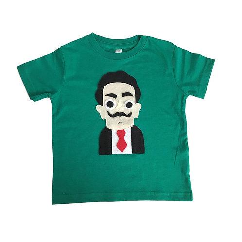 Dali - Kids Shirt - Kelly Green