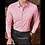 Thumbnail: 2020 New Fashion Cotton Long Sleeve Shirt Solid Slim Fit Male