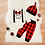Thumbnail: Cute 3PCS Set Newborn Baby Boy Clothes
