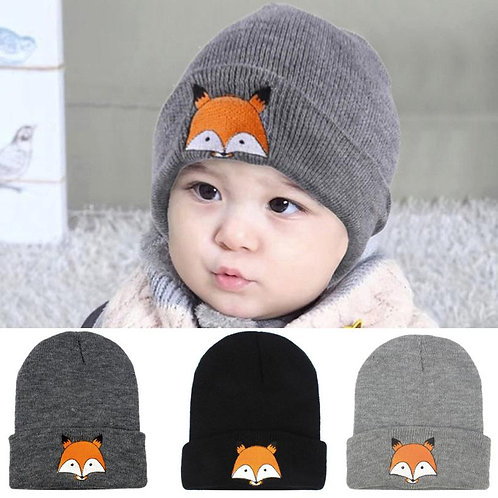 Baby Children Cap Fox Warm Winter Hats
