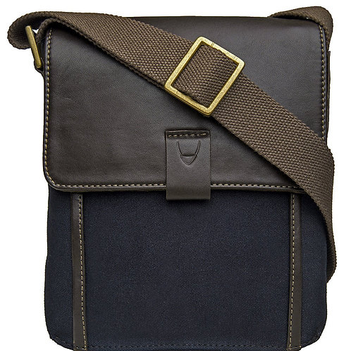 Aiden Small Canvas Leather Cross Body
