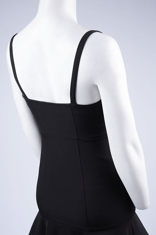 Clover & Sloane Topstitch Mini Dress