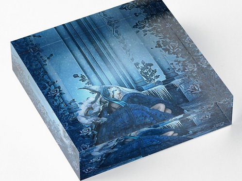 Acrylic Block - Frozen in Silence