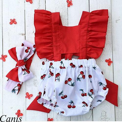 2Pcs Newborn Baby Girl Clothes