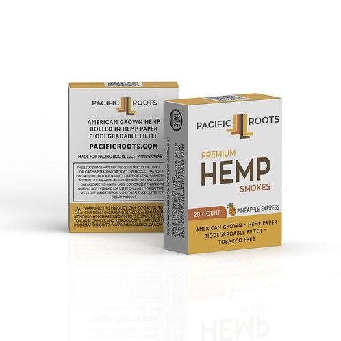 20 Pack Hemp Smokes- Carton (10 Packs)