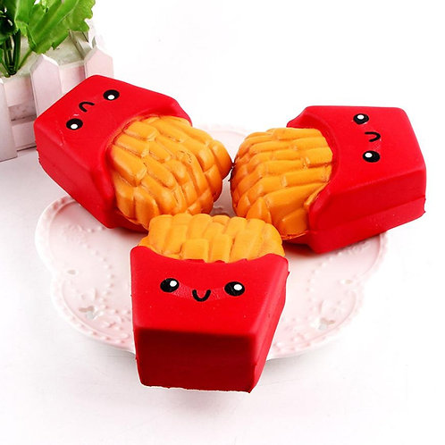 12 Cm French Fries Cream Scented 6 Second