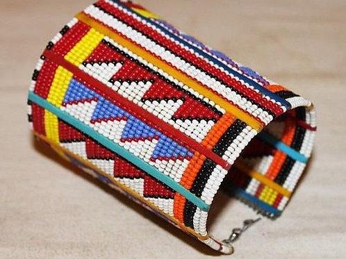 African Maasai Beaded Traditional Ethnic Beaded Bracelet /