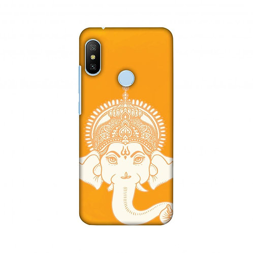 Almighty Ganesha Slim Hard Shell Case For Xiaomi Mi A2 Lite