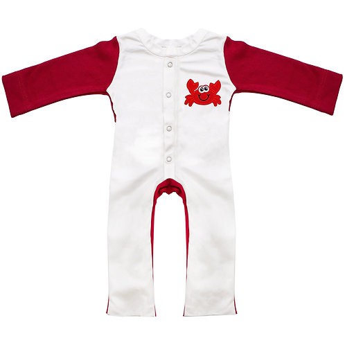 Crab Red Stain- Proof Jumpsuit