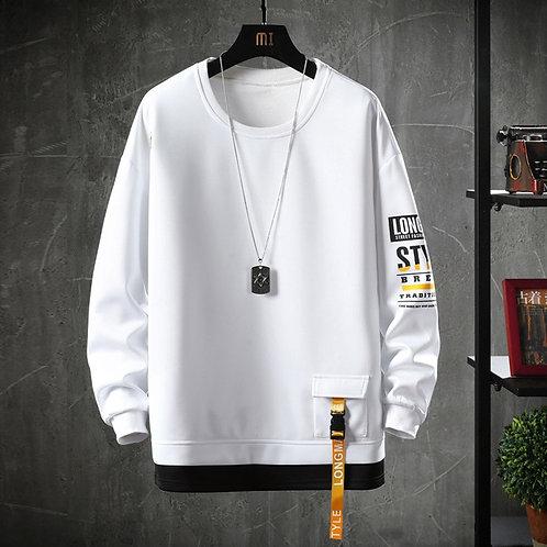 2020 Solid Color Sweatshirt Men Harajuku Hoodies Autumn Spring