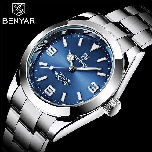 BENYAR Top Brand Fashion Diver Watch Men 50ATM Waterproof