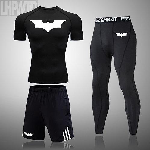 2020 Men's Fitness Sports T-Shirt Jogging Shirt Short-Sleeved Men