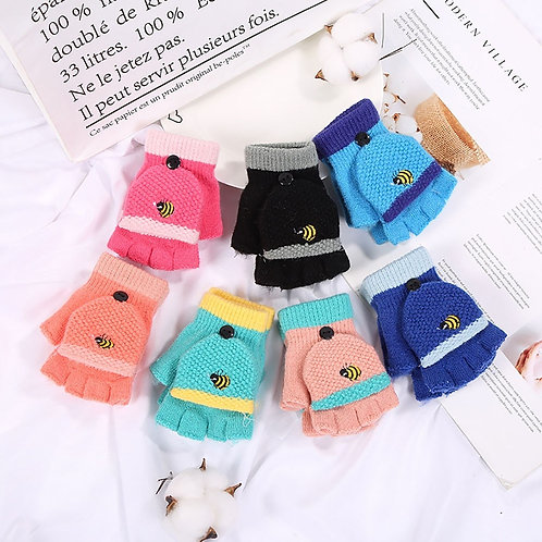 Children Kids Winter Gloves Baby Girls Boys