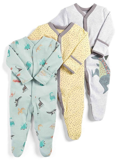 Baby Rompers Soft Cotton Infant Sleepsuits