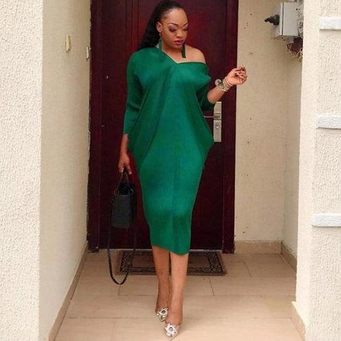 African Women Midi Dress