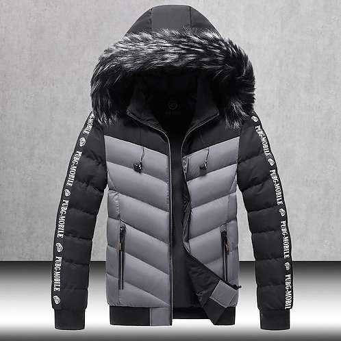 Cotton Outwear Man Patchwork Parka and Coats Windbreaker Parkas Male M-5xl