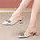 Thumbnail: Cresfimix Women Fashion High Quality Beige Square Heel