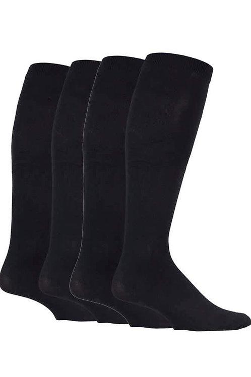 3 Pairs Mens Knee High Compression Socks
