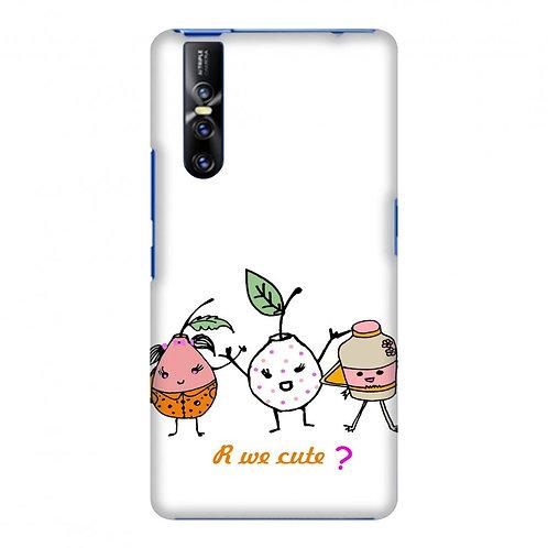 Are we cute? Slim Hard Shell Case For Vivo V15 Pro