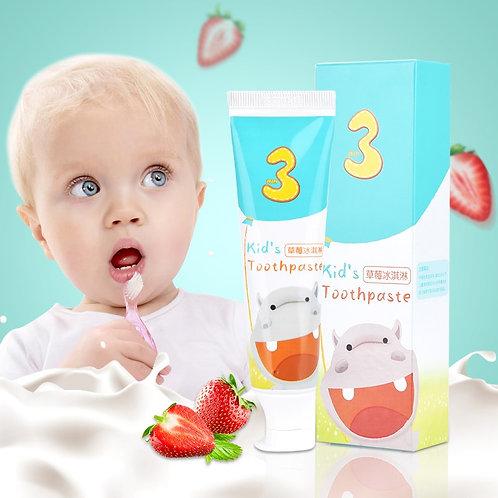 Children Toothpaste Children's Fluorine Free  Anti-Caries Organic