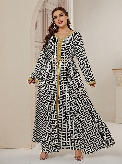 2020 Abaya Long Summer dress