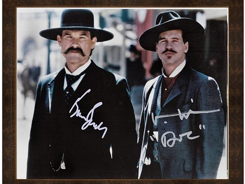 8 x 10 Framed print Under Glass all-wood Doc Holliday Tombstone
