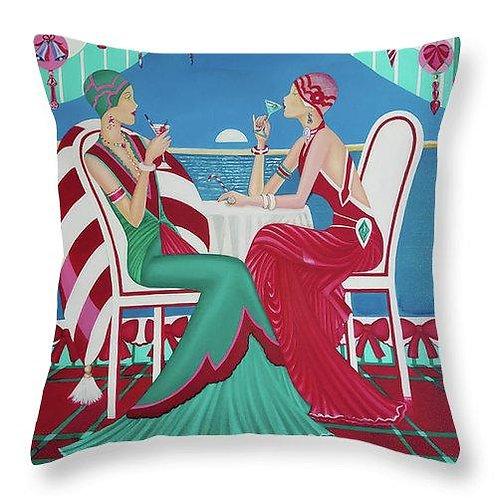 Christmas Cruisin - Throw Pillow