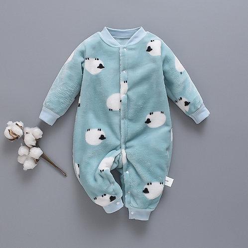 Autumn & Winter Newborn Baby Clothes Dinosaur Print Baby
