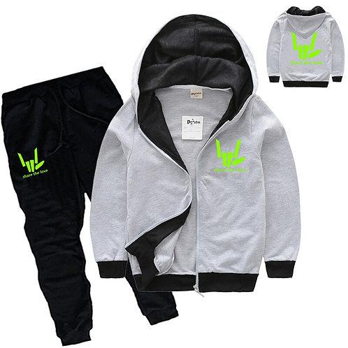2-14y Fashion Share the Love Clothing Boys Jacket Hoodies