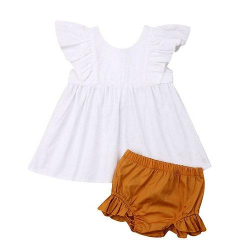 Cute Newborn Infant Baby Girl Summer Clothes set