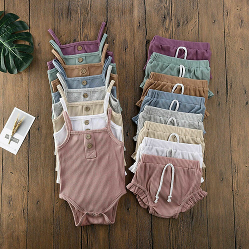 2020 Baby Summer Clothing 2PCS Newborn