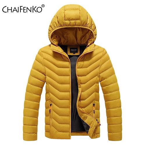 CHAIFENKO Winter Warm Casual Jacket Parkas Men
