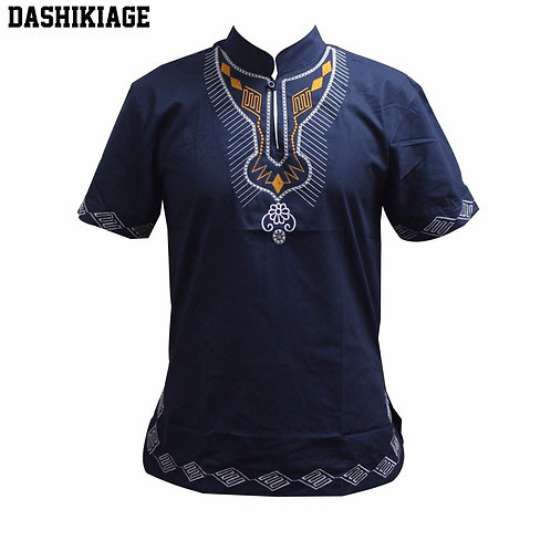 Dashikiage Embroidery-African  Tops