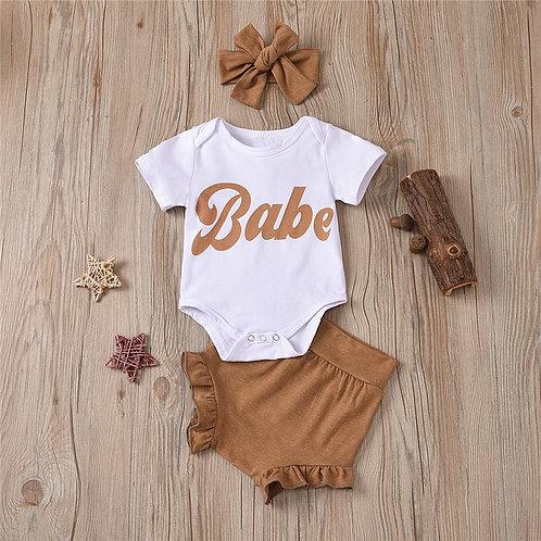 2021 Summer Newborn Baby Girls Clothes