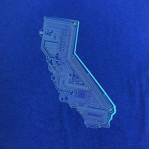 Cali Tech Dolman Shirt (Royal Blue)