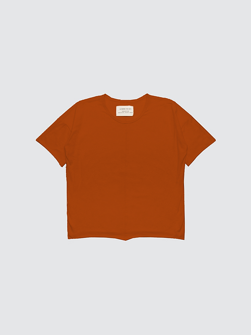 Burnt Orange | Short Sleeve Top