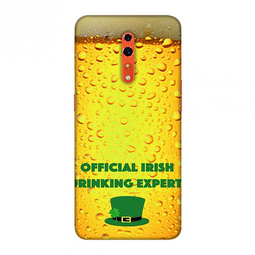 Beer Overall - Official irish drinking expert Slim Hard Shell Case For