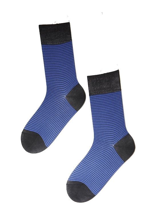 CECAR men's blue suit socks