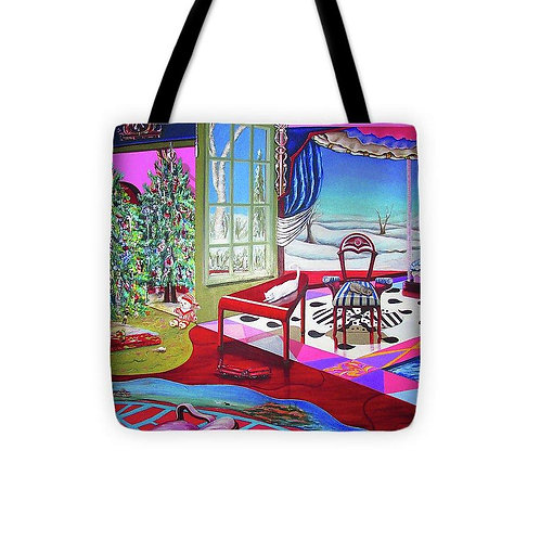 Christmas Painting - Tote Bag