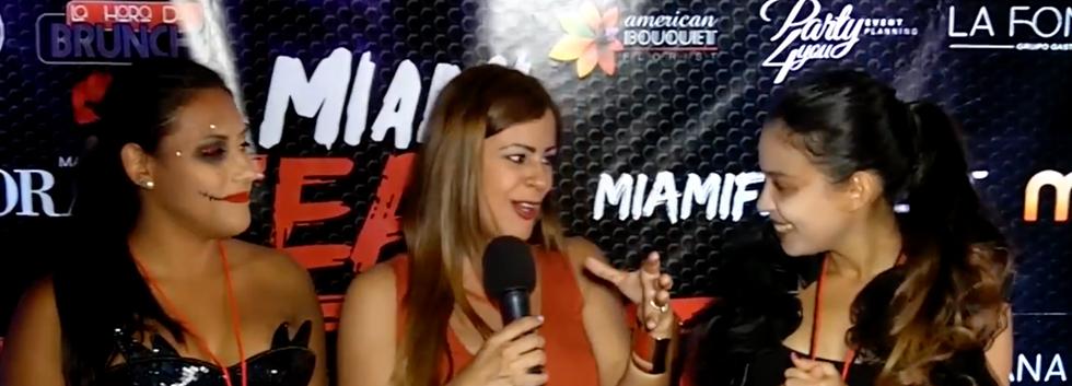 Estefania Hernandez   MIamiFearFest