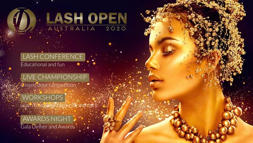 Lash open australia 2020