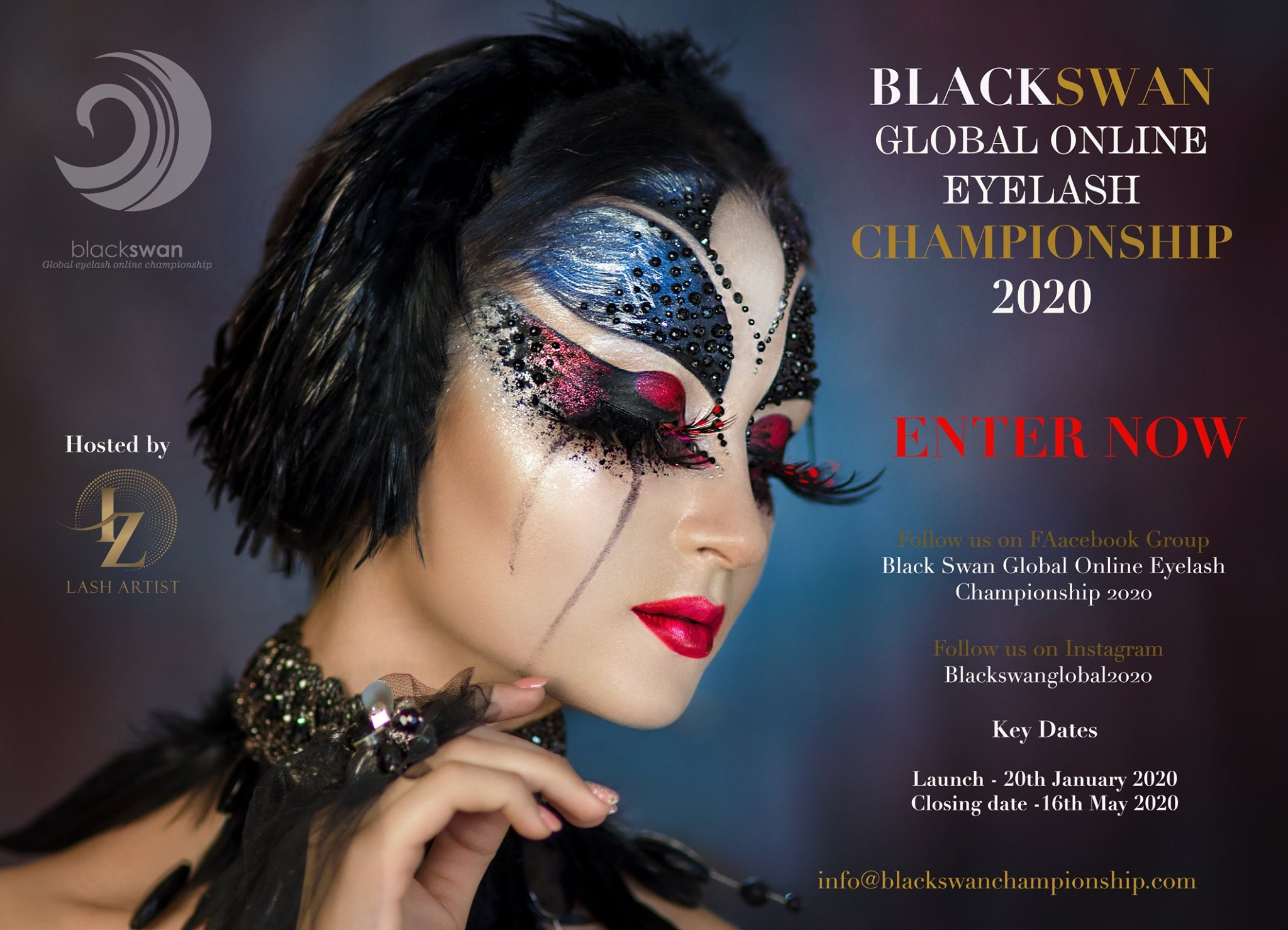 black swan global online eyelash