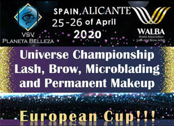 Europe Lash&Brow Competition Spain