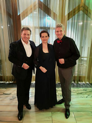 Von Gründorf, Sabrina May, Silvio Samoni im Casino Velden 2018