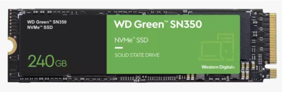 WD GREEN SN350 240GB M.2 NVME