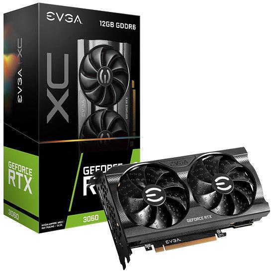 EVGA XC RTX 3060 12GB (SOLO CON EQUIPOS ENSAMBLADOS O SUS PARTES)