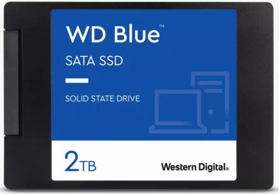 SSD WD BLUE 2TB SATA