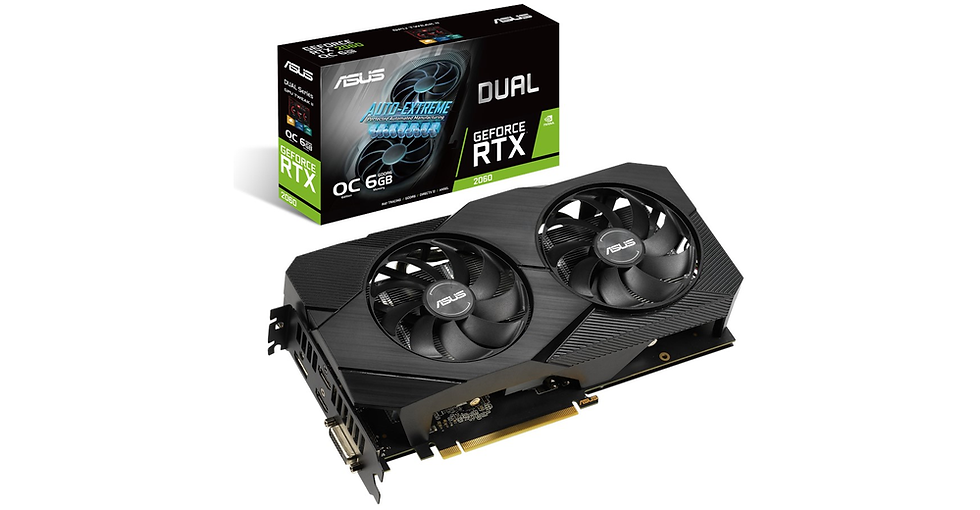 ASUS DUAL RTX 2060 6GB