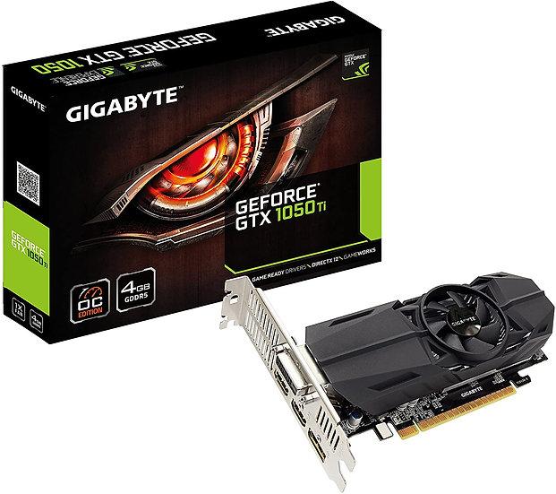 GIGABYTE GTX 1050Ti 4GB (SOLO CON EQUIPOS ENSAMBLADOS O SUS PARTES)