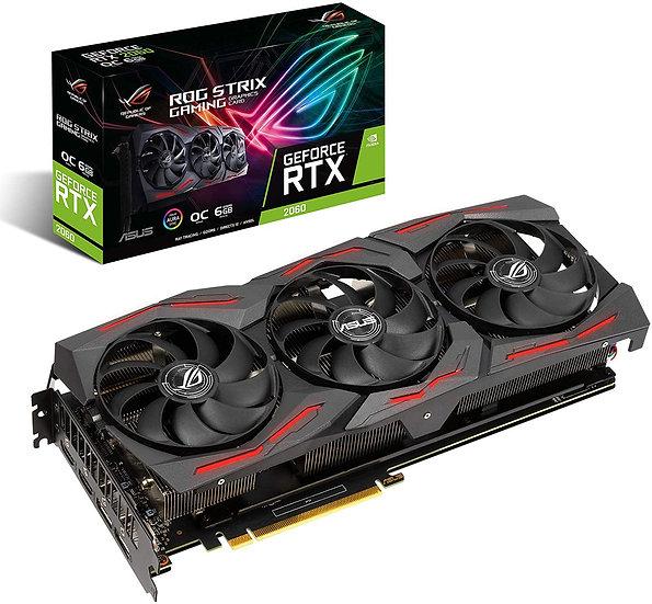 ROG STRIX RTX 2060 6GB (SOLO CON EQUIPOS ENSAMBLADOS O SUS PARTES)